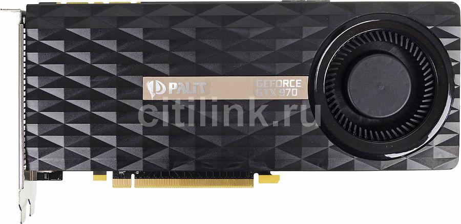 Видеокарта PALIT GeForce GTX 970,  PA-GTX970-4GD5,  4Гб, GDDR5, Ret [ne5x970016g2-2043f]