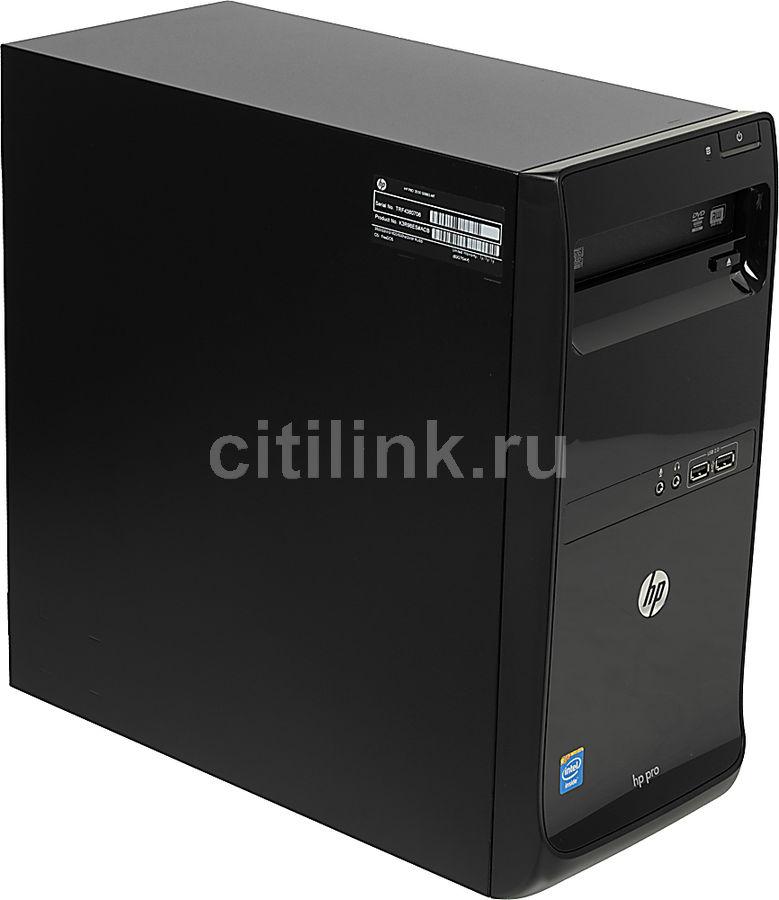 Компьютер  HP Pro 3500 G2,  Intel  Celeron  G1620,  DDR3 2Гб, 500Гб,  Intel HD Graphics,  DVD-RW,  Free DOS,  черный [k3r98es]