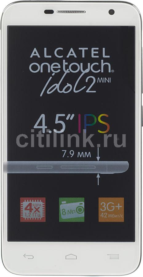 Смартфон ALCATEL Idol 2 Mini 6016D,  белый