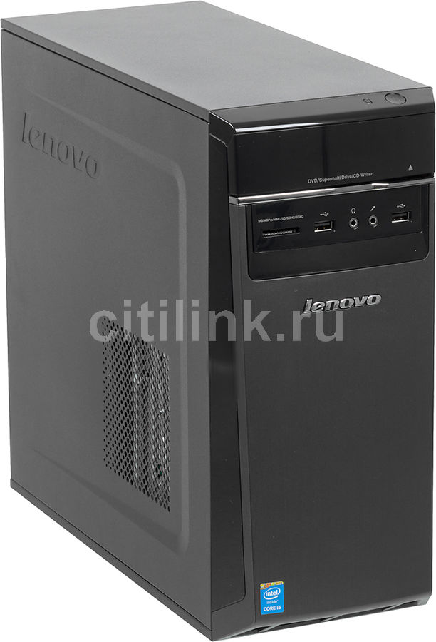Компьютер  LENOVO H50-50,  Intel  Core i5  4460,  DDR3 8Гб, 1000Гб,  nVIDIA GeForce GTX 745 - 2048 Мб,  DVD-RW,  CR,  Windows 8.1,  черный [90b7002grs]