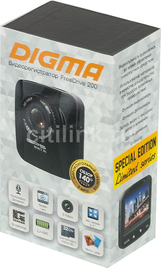 Видеорегистратор digma freedrive 200 инструкция