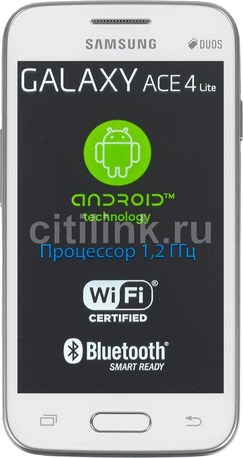 Смартфон SAMSUNG Galaxy Ace 4 Lite SM-G313H (DS)  белый