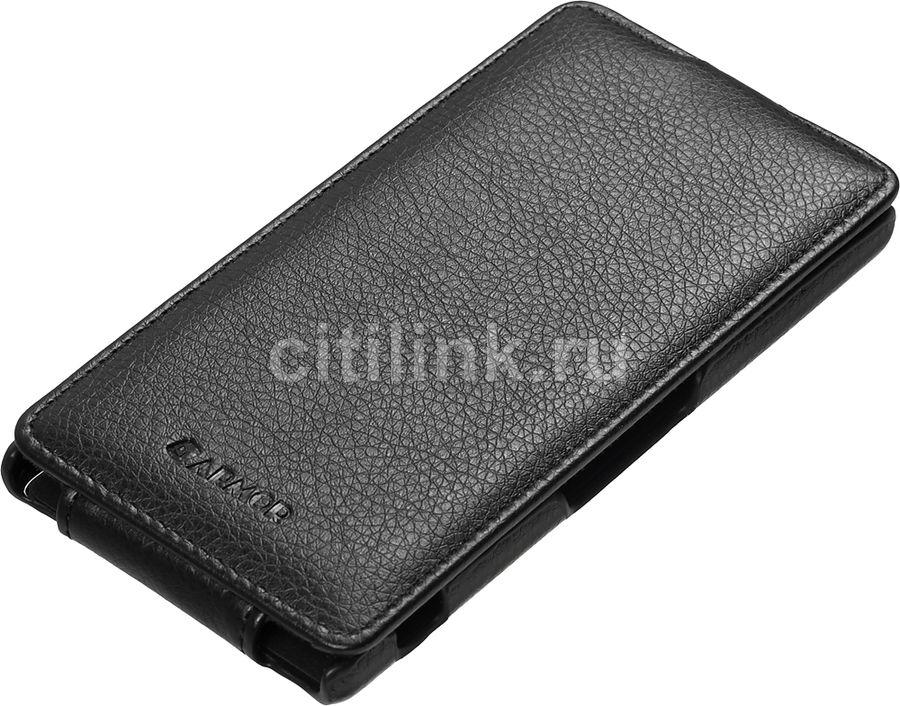 Чехол (флип-кейс) ARMOR-X flip full, для Sony Xperia Z3, черный