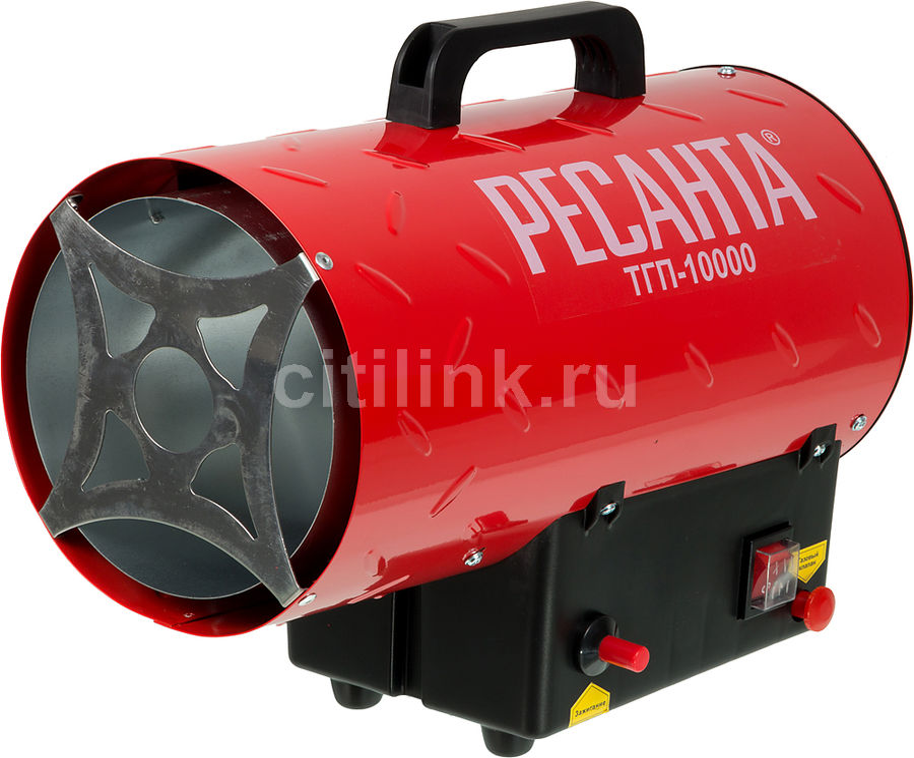 Тепловая пушка газовая РЕСАНТА ТГП-10000,  10кВт красный [67/1/20]