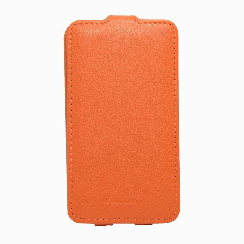 Чехол (флип-кейс) ARMOR-X flip full, для Nokia Lumia 530, оранжевый