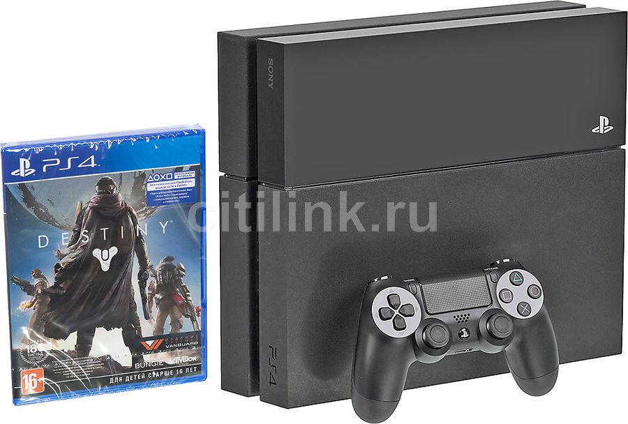 Игровая консоль SONY PlayStation 4 PS719826118, черный