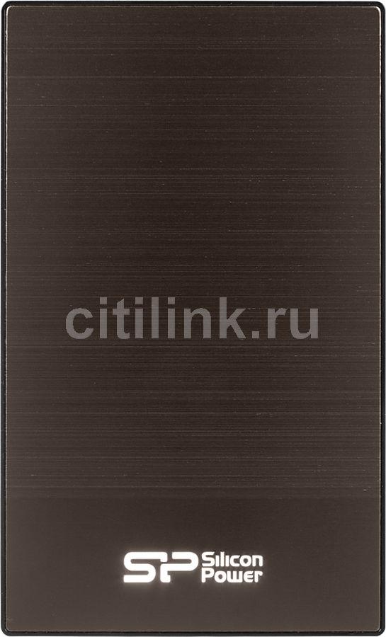 Внешний жесткий диск SILICON POWER Diamond D05, 2Тб, серый [sp020tbphdd05s3t]