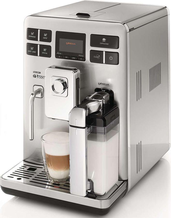 Кофемашина SAECO Exprelia HD8856/09,  серебристый