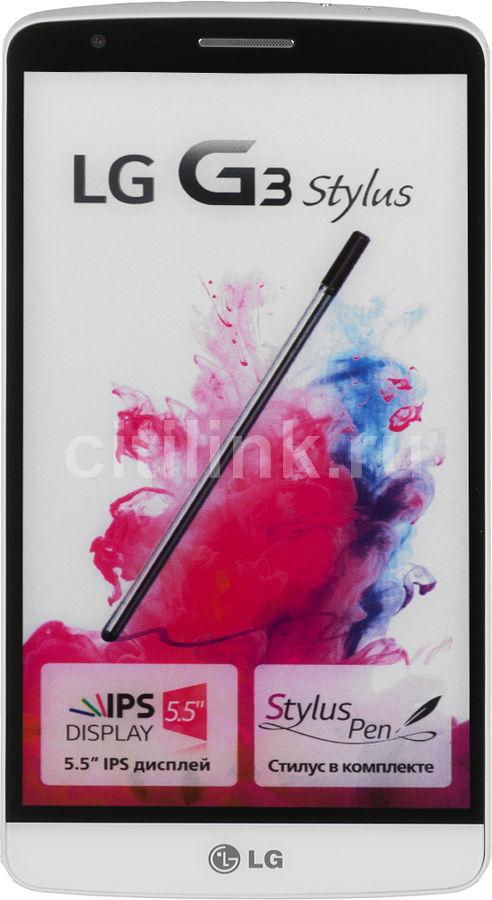 Смартфон LG G3 Stylus D690  белый