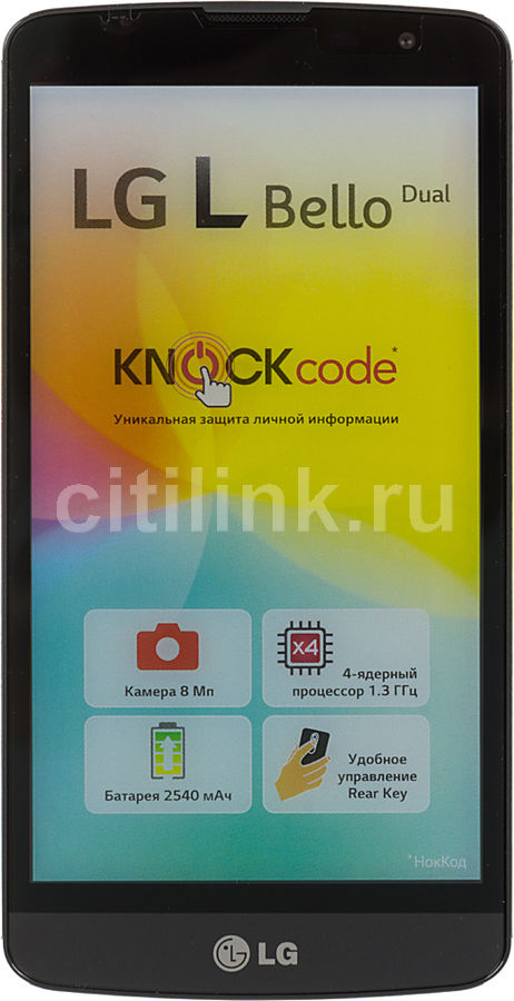 Смартфон LG L Bello D335  черный