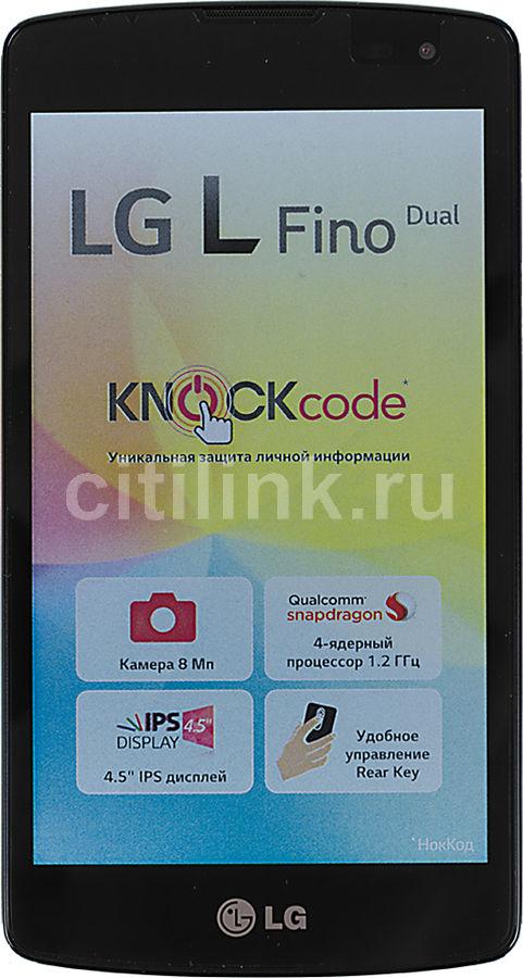 Смартфон LG L Fino D295  черный