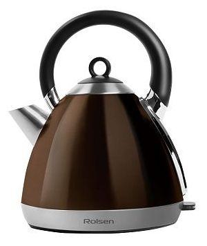 Чайник электрический ROLSEN RK-2712M, 2200Вт, коричневый