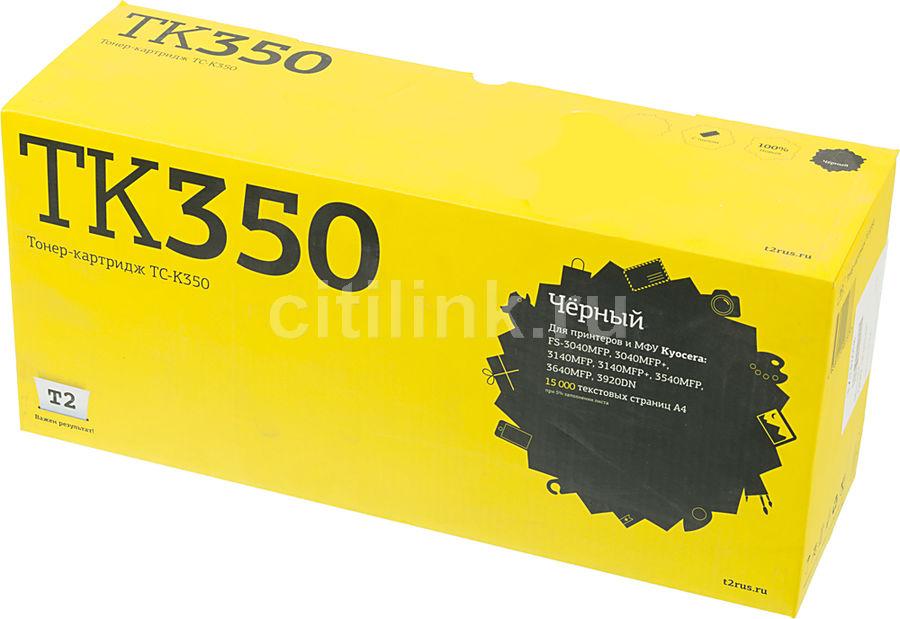 Картридж T2 TC-K350 TK-350,  черный