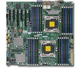 Серверная материнская плата SUPERMICRO MBD-X10DRC-LN4+-O,  Ret