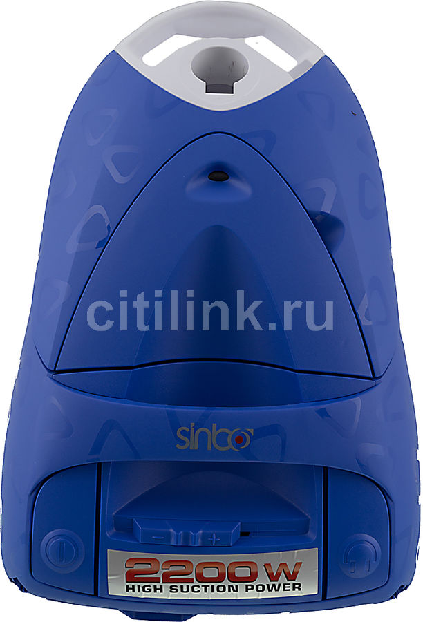 Пылесос SINBO SVC 3469, 2200Вт, синий