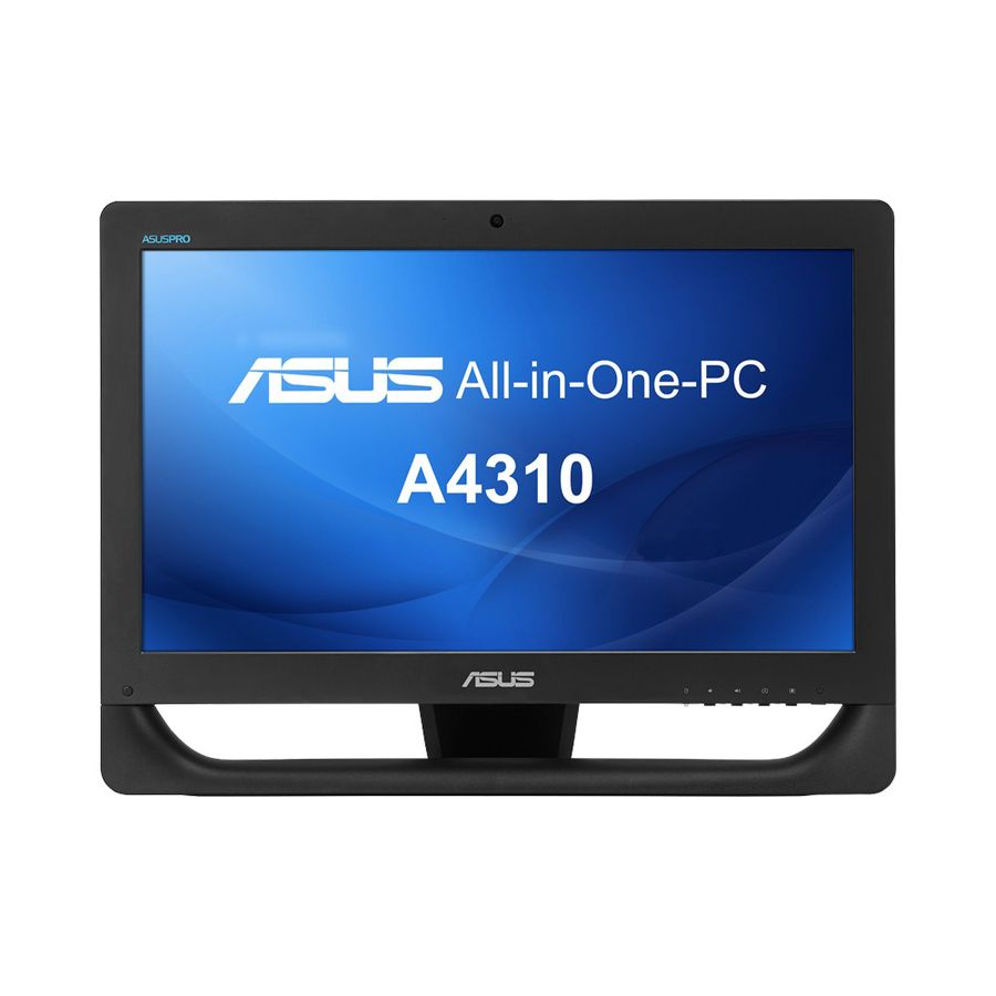Моноблок ASUS A4310-B026T, Intel Core i5 4460T, 4Гб, 1000Гб, Intel HD Graphics 4600, DVD-RW, Windows 7 Professional, черный [90pt00x1-m04190 ]