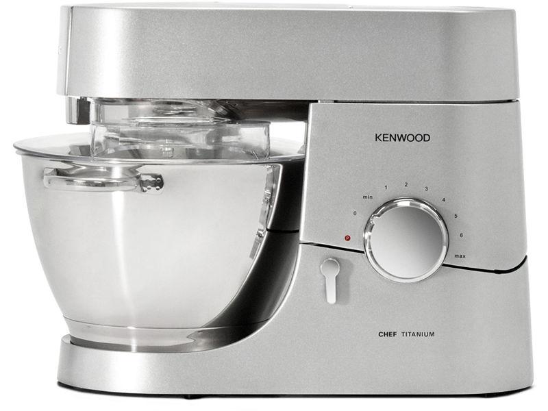 Кухонный комбайн KENWOOD Titanium Chef KMC010,  серебристый