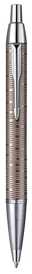 Ручка шариковая Parker IM Premium Vacumatic K224 (1906779) коричневый M синие чернила подар.кор.