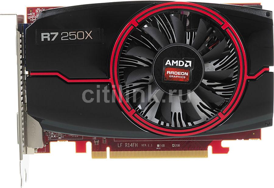 Видеокарта POWERCOLOR Radeon R7 250X,  AXR7 250X 2GBD5-HE,  2Гб, GDDR5, oem [axr7 250x 2gbd5-he bulk]
