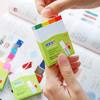 Закладки самокл. индексы бумажные Stick`n 21615 14x76мм 4цв.в упак. 100лист с цветным краем европодв вид 2