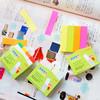 Закладки самокл. индексы бумажные Stick`n 21615 14x76мм 4цв.в упак. 100лист с цветным краем европодв вид 5