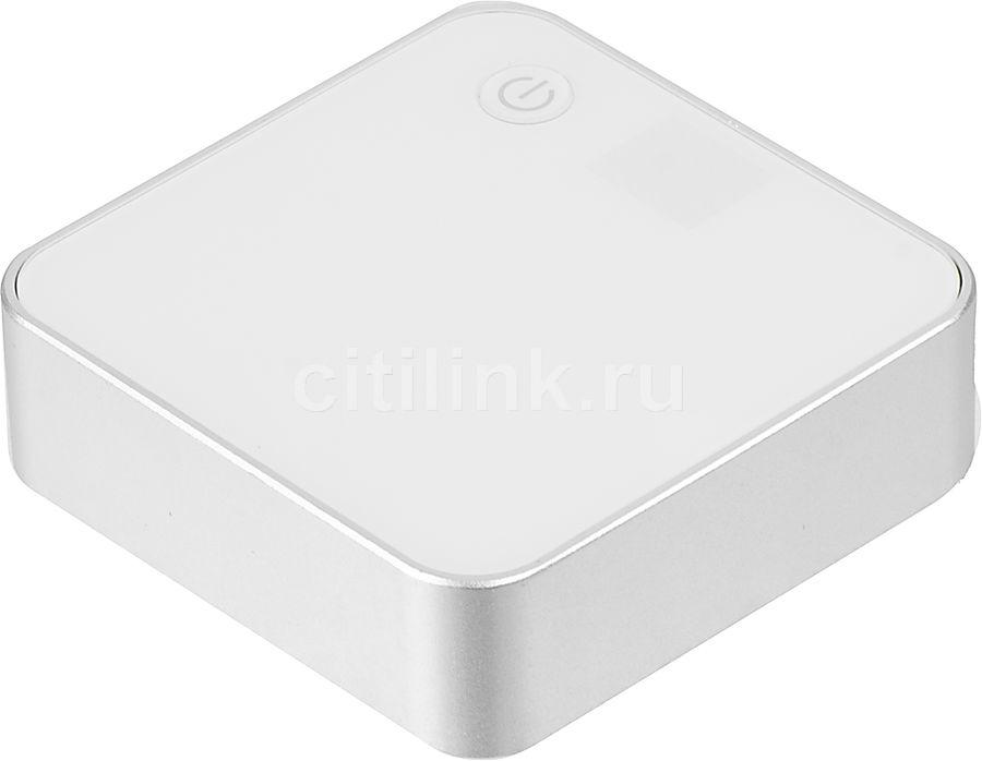 Внешний аккумулятор HAMA PowerPack Digi7800,  7800мAч,  белый [124508]