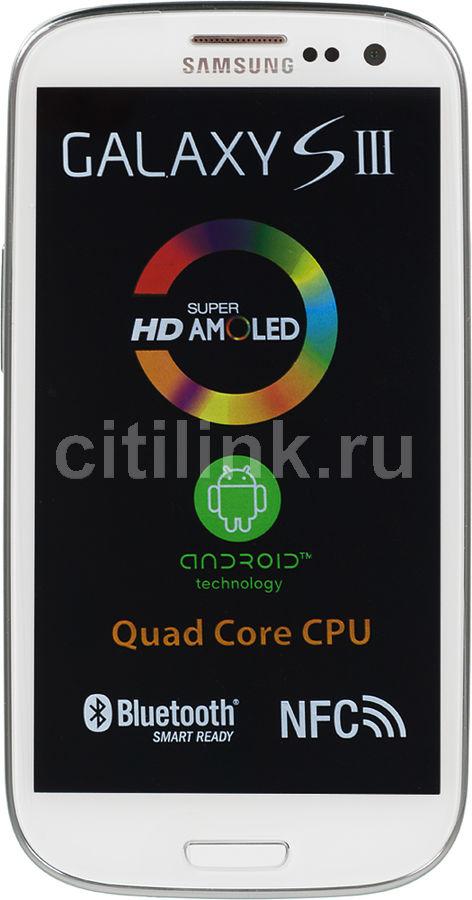 Смартфон SAMSUNG Galaxy S III GT-I9301I  белый
