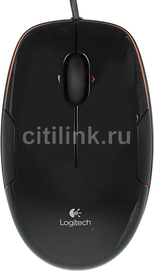 Мышь LOGITECH M150 лазерная проводная USB, черный [910-003753/910-003744]
