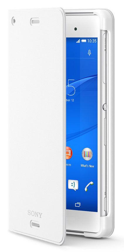 Чехол (флип-кейс) SONY WCR14, для Sony Xperia Z3, белый