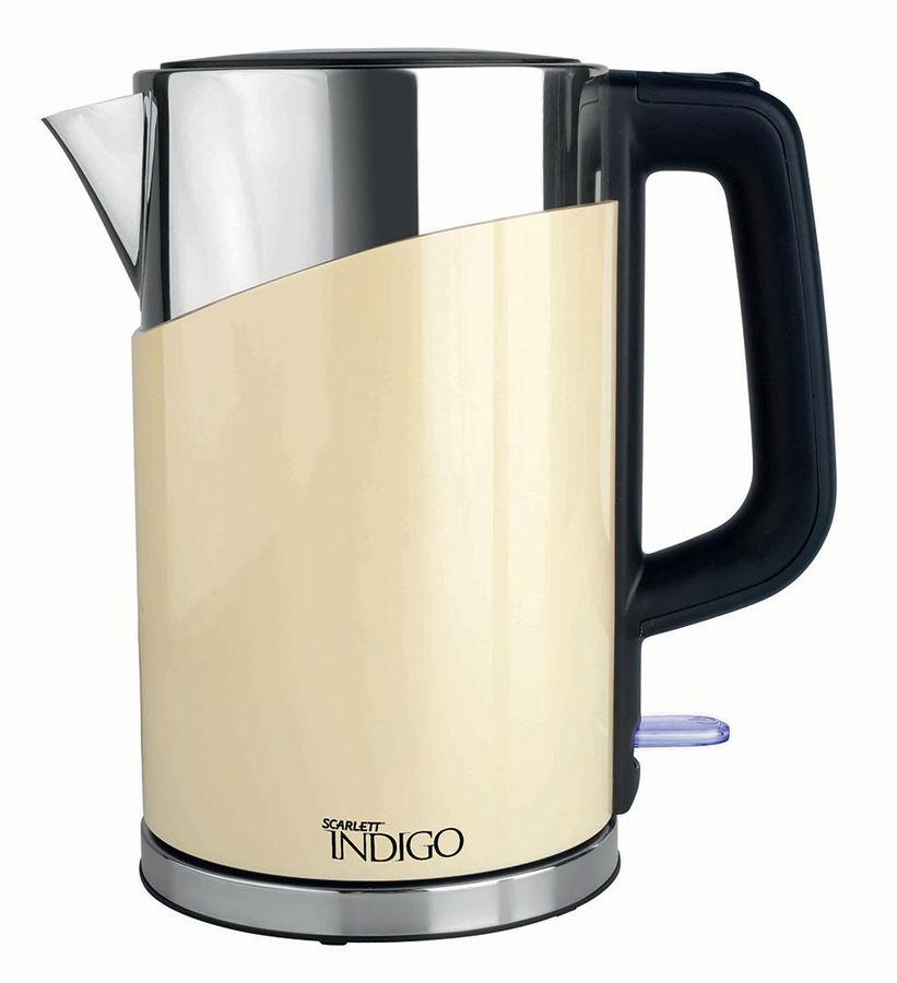 Чайник электрический SCARLETT IS-503, 2200Вт, бежевый