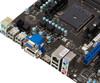 Материнская плата MSI A58M-E35 Socket FM2+, mATX, Ret вид 4