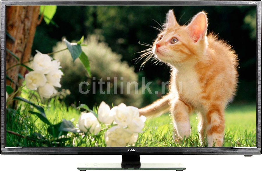 "LED телевизор BBK 32LEM-1007/T2C  ""R"", 32"", HD READY (720p),  черный"