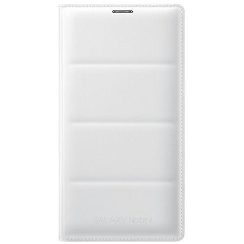 Чехол (флип-кейс) SAMSUNG EF-WN910BWEGRU, для Samsung Galaxy Note 4, белый