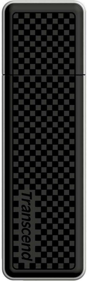 Флешка USB TRANSCEND Jetflash 780 256Гб, USB3.0, черный и серебристый [ts256gjf780]