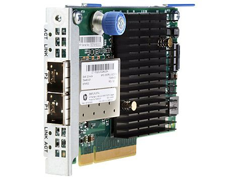 Адаптер HPE 556FLR-SFP+ FlexFabric 10Gb 2P (727060-B21)