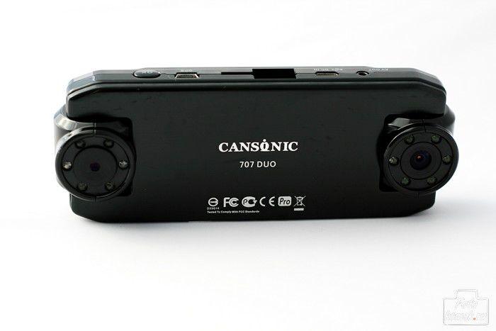 Видеорегистратор CANSONIC 707 DUO черный