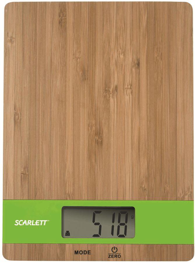 Весы кухонные SCARLETT SC-KS57P01,  зеленый