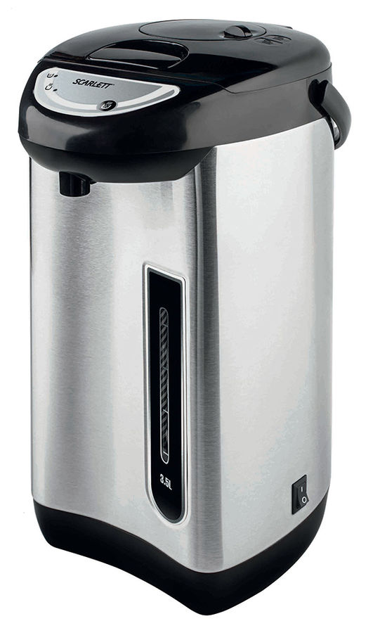 Термопот SCARLETT SC-ET10D01,  белый и серебристый