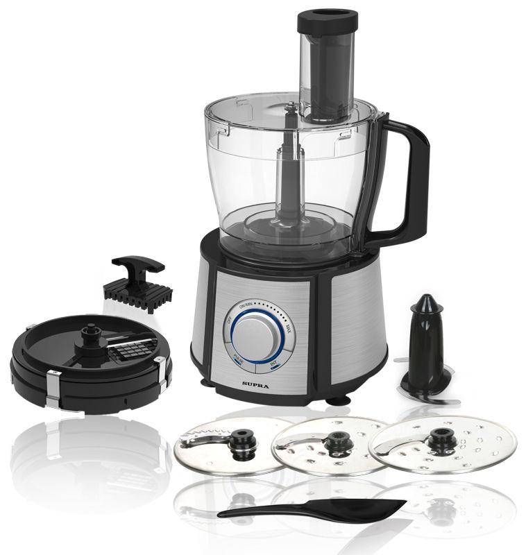 Кухонный комбайн SUPRA FPS-7725,  черный
