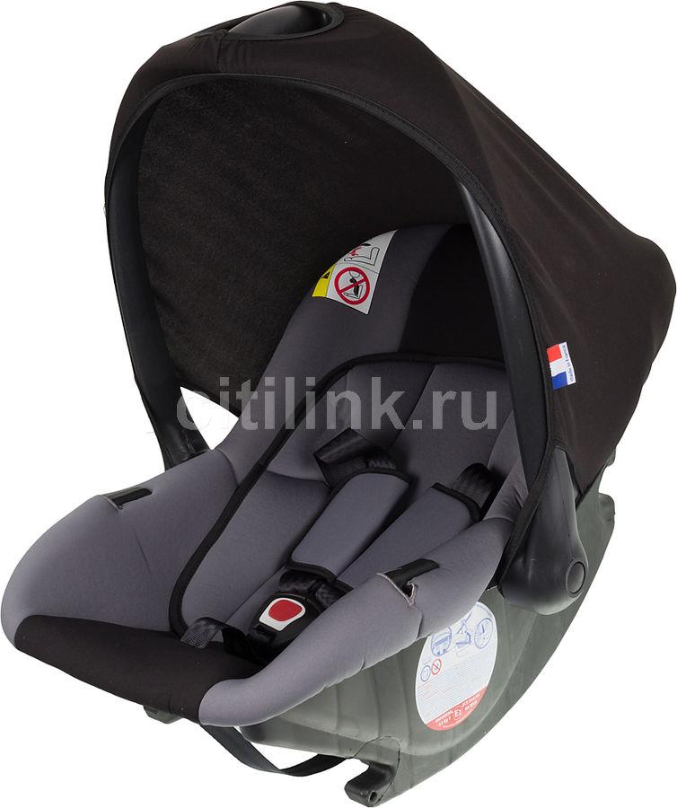 Автокресло детское NANIA Baby Ride ECO (rock), 0/0+, серый/черный [373120]