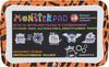 Детский планшет TURBO MonsterPad,  оранжевый/черный