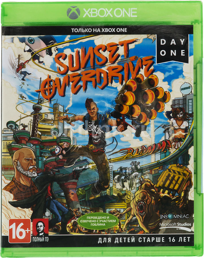 Игра MICROSOFT Sunset Overdrive для  Xbox One Rus