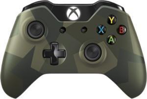 Беспроводной контроллер MICROSOFT Wireless Controller, для  Xbox One, Branded  Armed Forces [j72-00021]