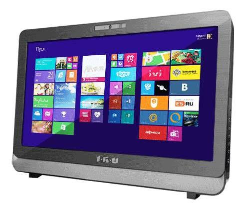 Моноблок IRU K2303B, Intel Celeron G1850, 2Гб, 500Гб, DVD-RW, Free DOS [974098]