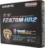 Материнская плата GIGABYTE GA-F2A78M-HD2 Socket FM2+, mATX, Ret вид 6