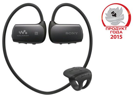 MP3 плеер SONY NWZ-WS613 flash 4Гб черный [nwzws613b.ee]