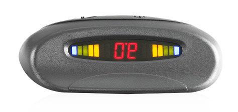 Парковочный радар SHO-ME Y-2620,  серебристый [y-2620 silver]