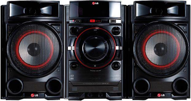 Музыкальный центр LG CM4335T,  черный