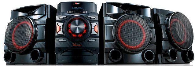 Музыкальный центр LG CM4545,  черный