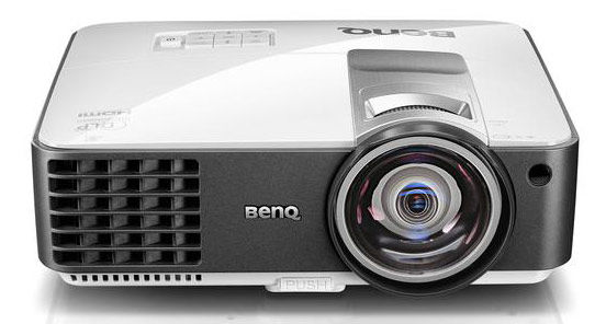 Проектор BENQ MX806ST бело-серый [9h.jcd77.13e]